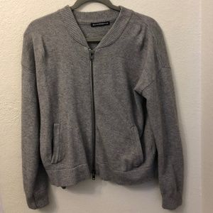 Brandy Melville Cozy Grey Jacket